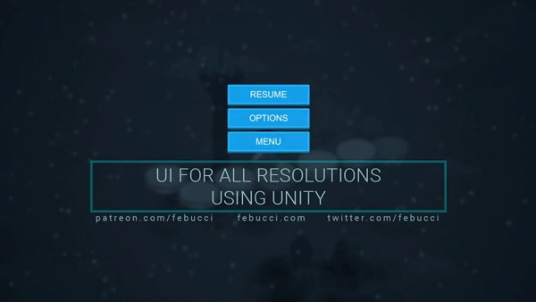 Create UI for all Resolutions using Unity - Tutorial