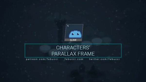How to show Characters inside Cards (UI parallax)