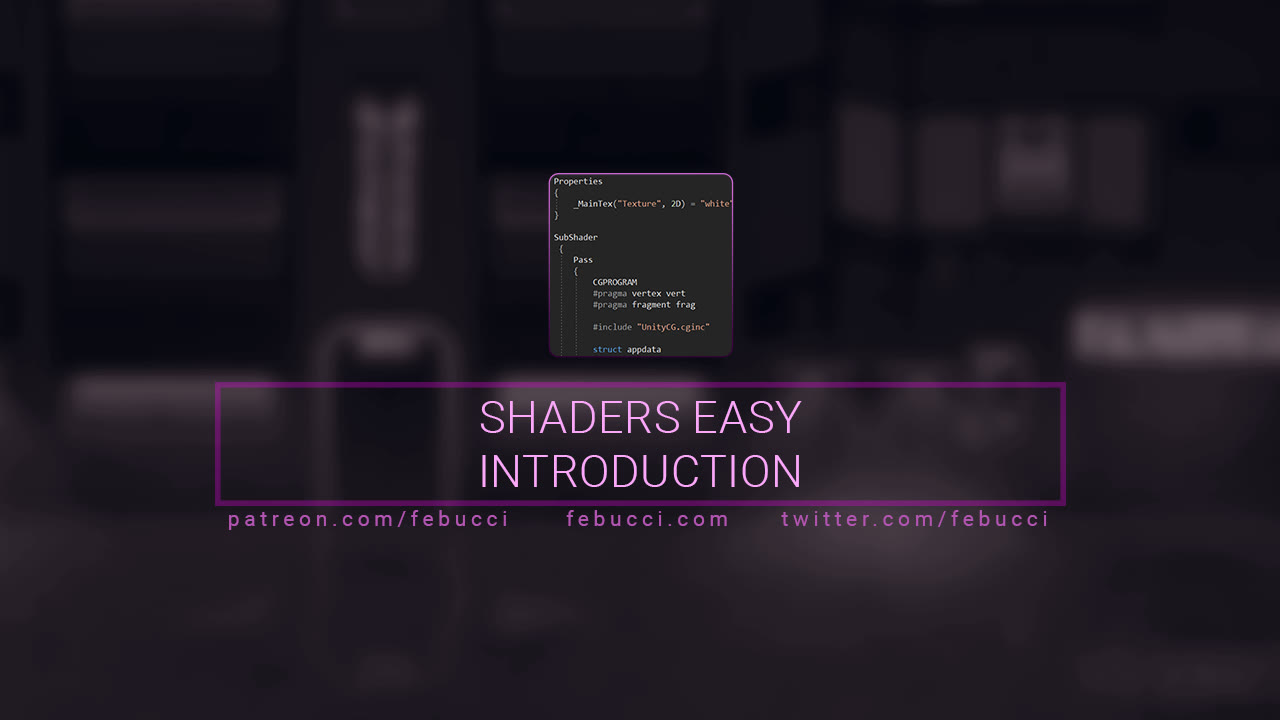 Simple Shaders Introduction using Unity