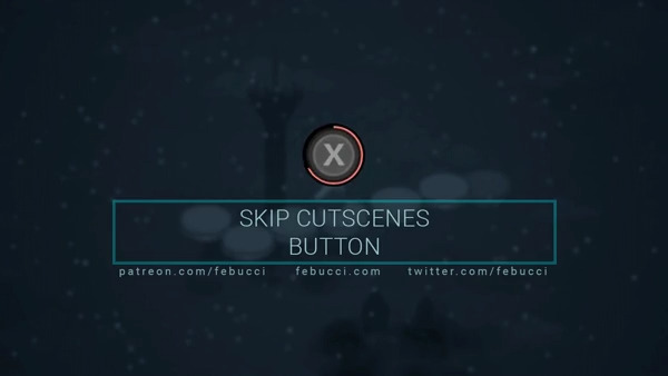 How to create a button that Skip Cutscenes in Unity